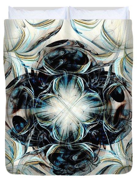 Black Pearls Duvet Cover by Anastasiya Malakhova