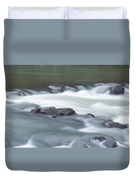 Black River Duvet Cover