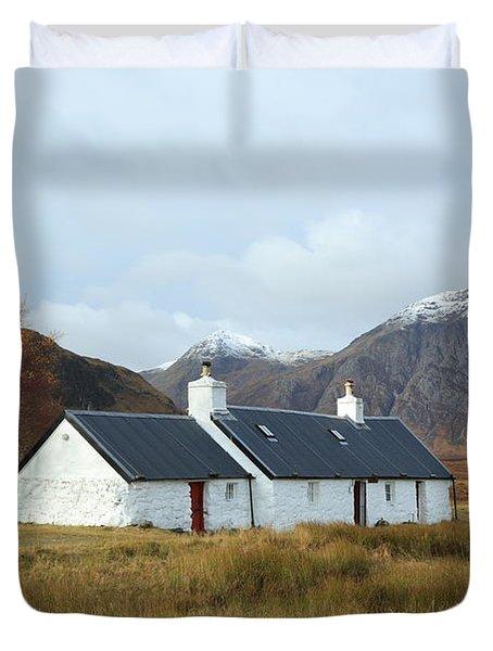 Black Rock Cottage Duvet Cover