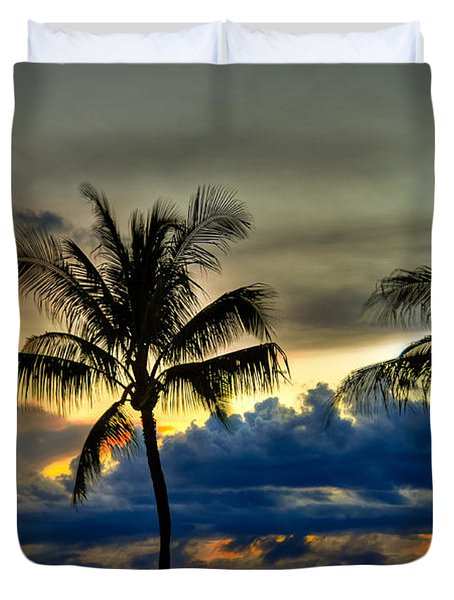 Black Rock Ka'anapali  Duvet Cover