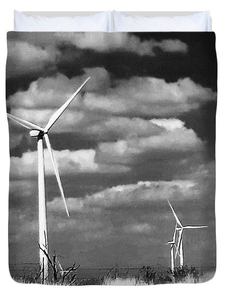 Wind Farm Duvet Cover