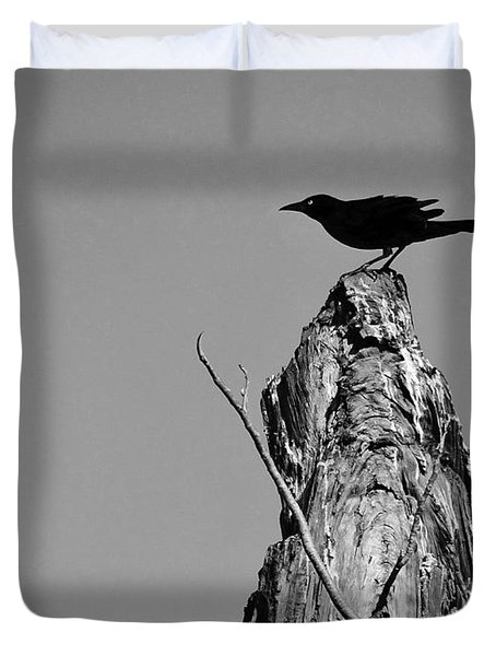 Blackbird Duvet Cover