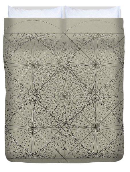 Blackhole Duvet Cover by Jason Padgett