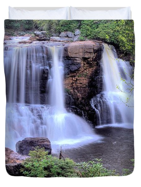Blackwater Falls Duvet Cover