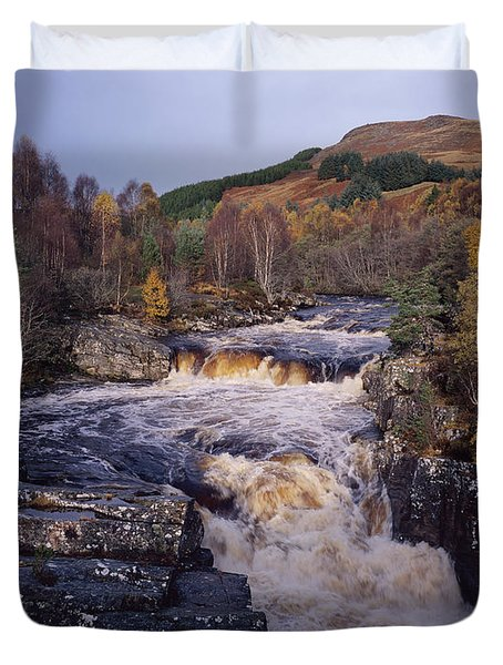 Blackwater Falls - Scotland Duvet Cover