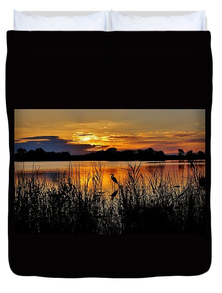 Blackwater Morning Duvet Cover