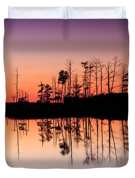 Blackwater Reflections Duvet Cover