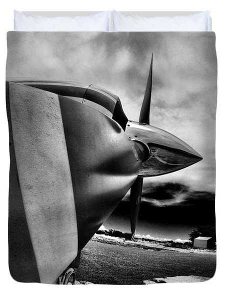 Blade Flyer Duvet Cover by Paul Job