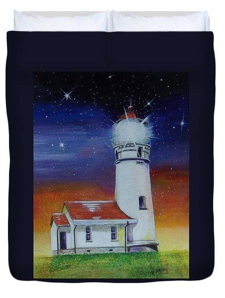 Blanco Lighthouse Duvet Cover