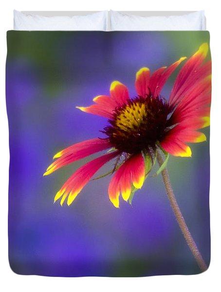 Blanket Flower  Duvet Cover by Saija  Lehtonen