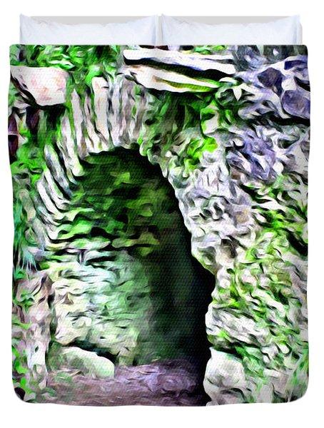 Blarney Cave Duvet Cover