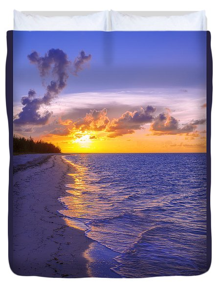 Blaze Duvet Cover by Chad Dutson