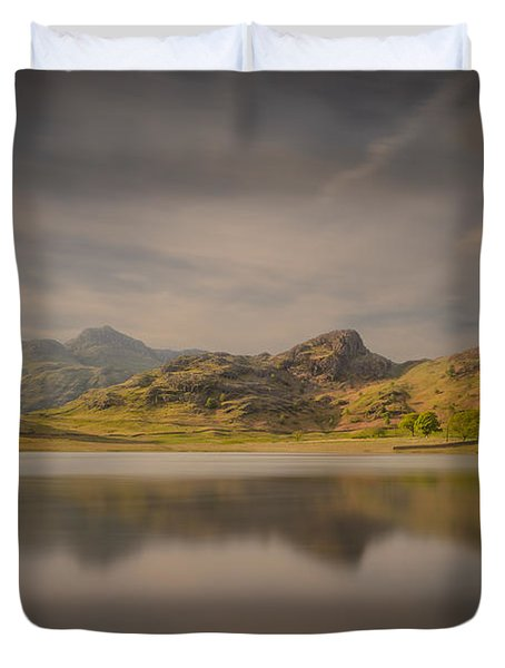 Blea Tarn Lake District Duvet Cover