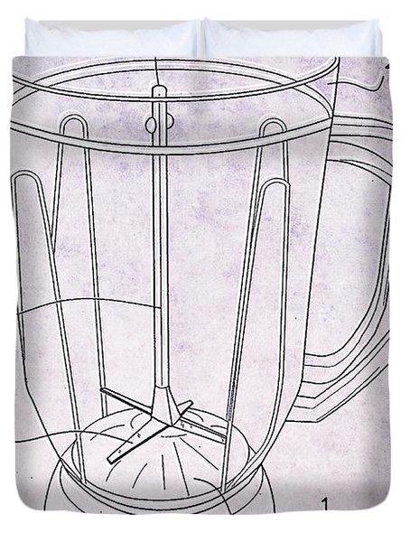 Blender Patent Duvet Cover by Edward Fielding