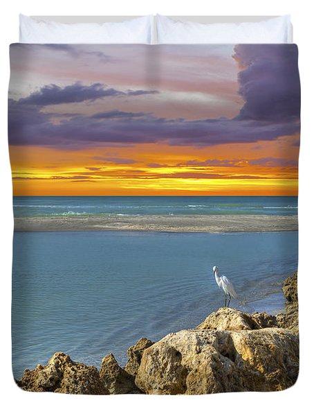 Blind Pass Sunset Duvet Cover