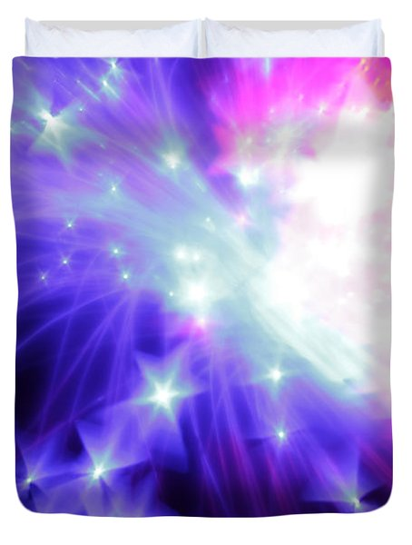 Blinded By The Light Duvet Cover