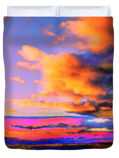 Blinn Hill View Duvet Cover