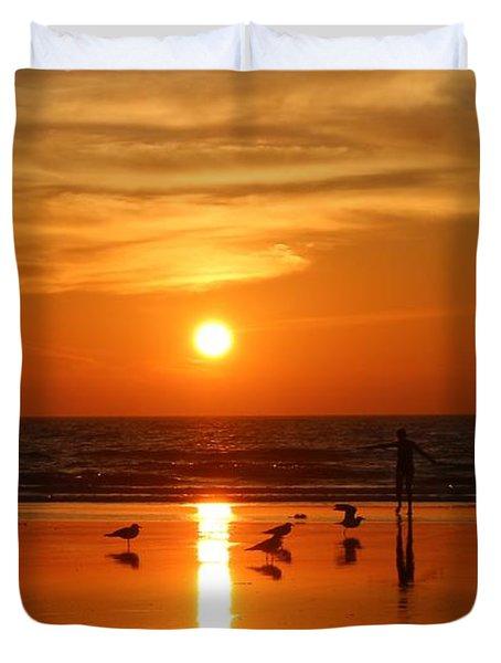 Bliss At Sunset   Duvet Cover