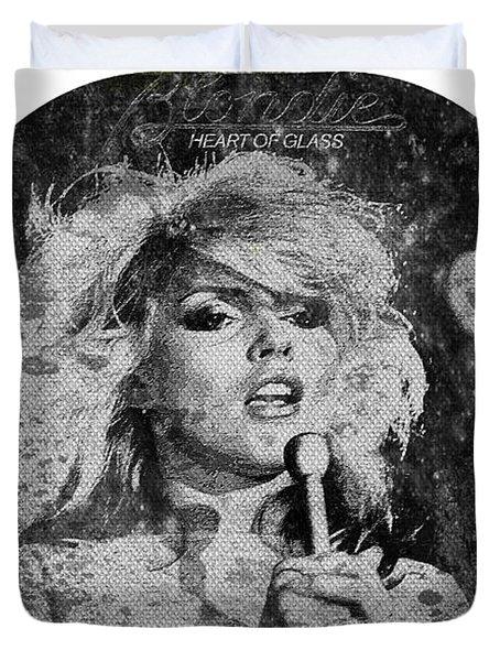 Blondie - Heart Of Glass Duvet Cover