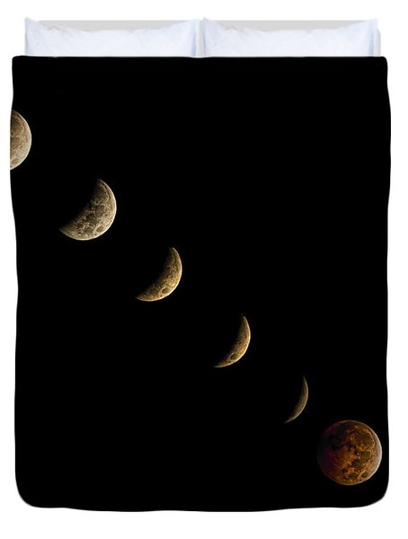 Blood Moon Duvet Cover by James Dean