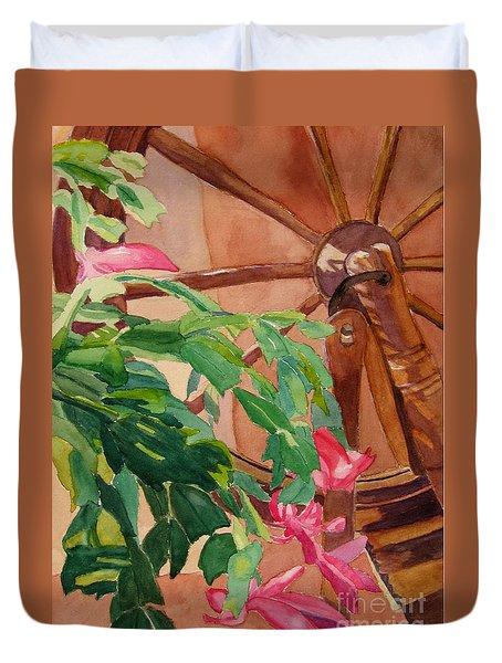 Bloomin' Cactus Duvet Cover