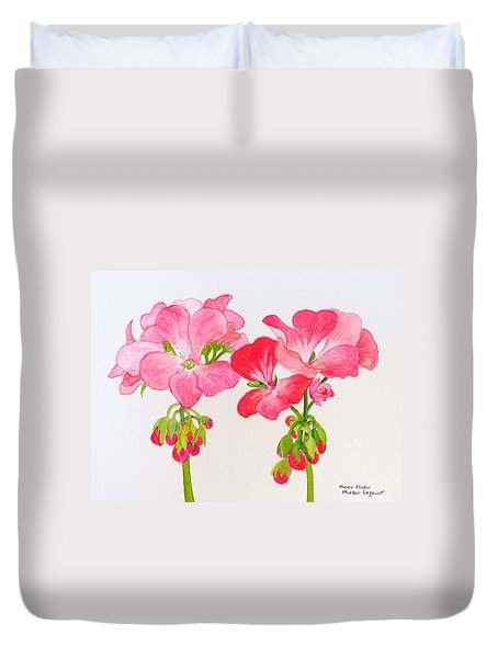 Blooming 1 Duvet Cover