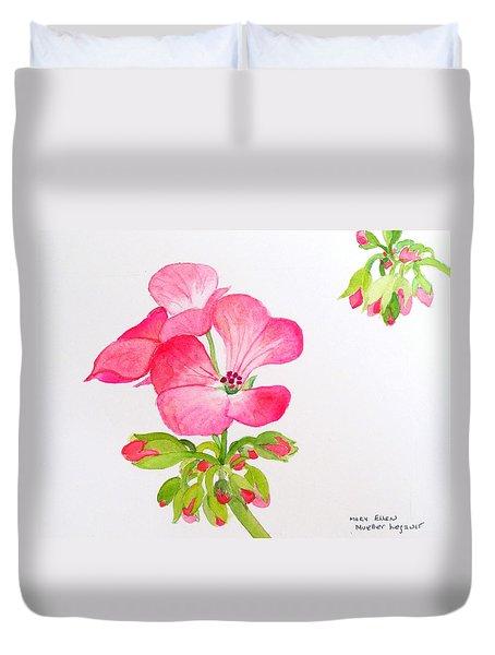 Blooming 2 Duvet Cover by Mary Ellen Mueller Legault