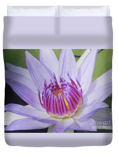 Duvet Cover featuring the photograph Blooming For You by Chrisann Ellis