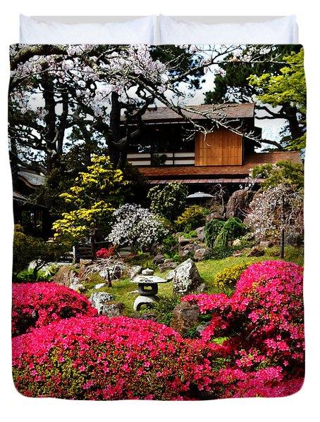 Blooming Gardens 2 Duvet Cover