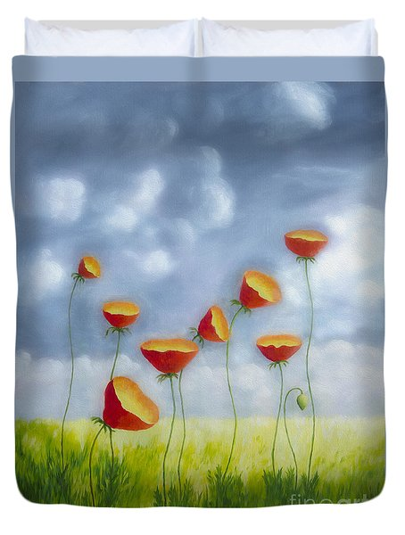 Blooming Summer Duvet Cover by Veikko Suikkanen