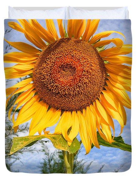 Blooming Sunflower V2 Duvet Cover