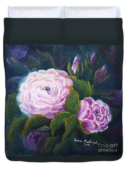 Blooming Duvet Cover by Vesna Martinjak