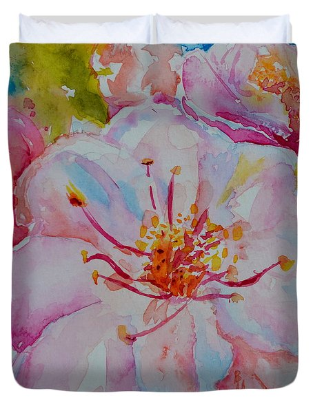 Blossom Duvet Cover by Beverley Harper Tinsley