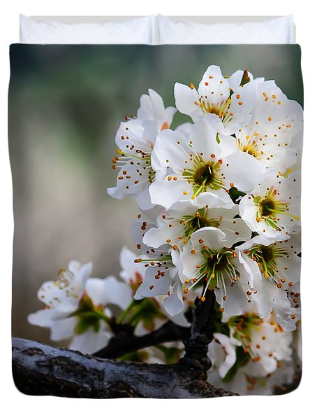 Blossom Gathering Duvet Cover