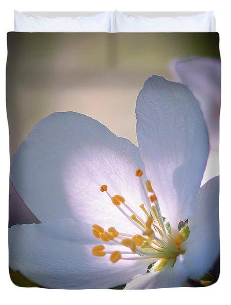 Blossom In The Sun Duvet Cover