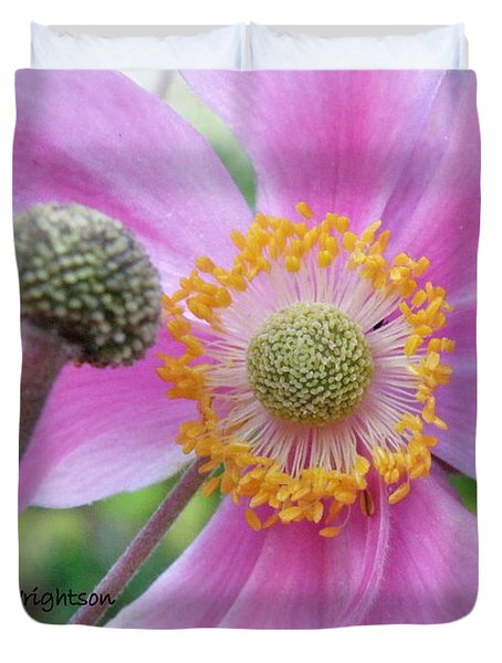 Blossom Duvet Cover by Lainie Wrightson