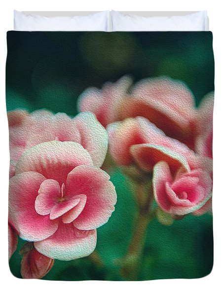 Duvet Cover featuring the photograph Blossom by Yew Kwang