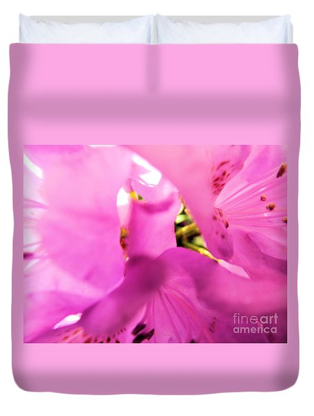 Duvet Cover featuring the photograph Blossoming Beauty by Robyn King