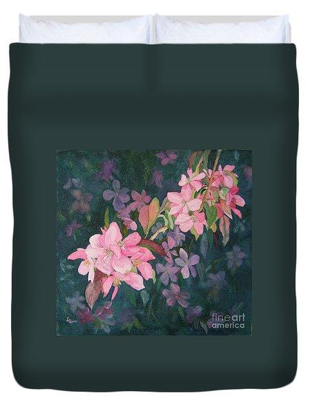 Blossoms For Sally Duvet Cover