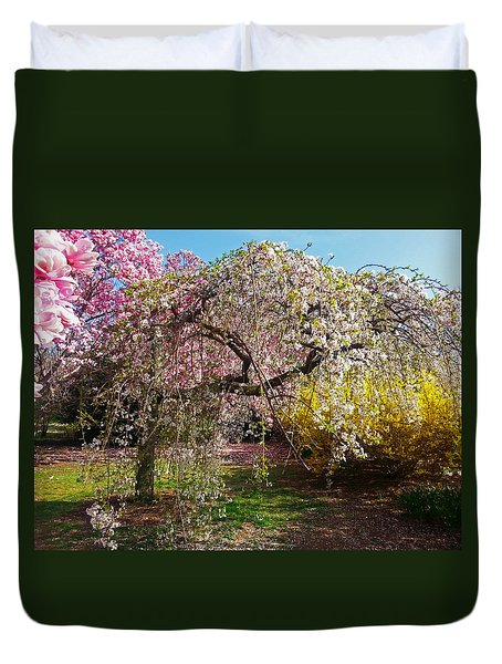 Blossoms Potpourri II Duvet Cover