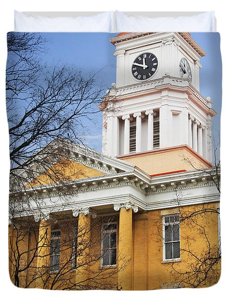 Blount County Courthouse Duvet Cover by Melinda Fawver