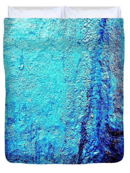 Blu Wall 2 Duvet Cover