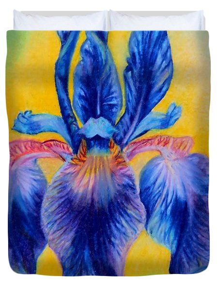 Blue ... Duvet Cover by Zina Stromberg