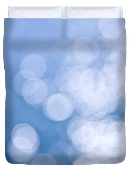 Blue And White  Duvet Cover by Elena Elisseeva