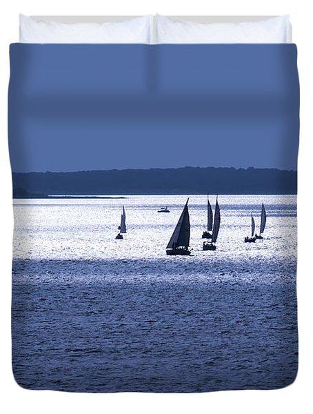 The Blue Armada Duvet Cover