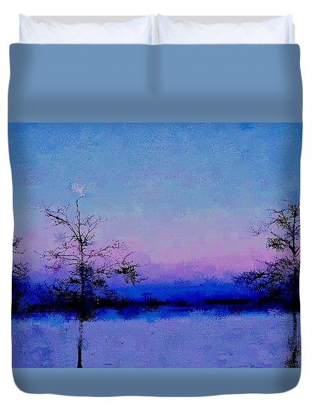 Blue Ballet Duvet Cover