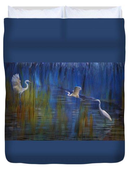 Blue Bayou II Duvet Cover
