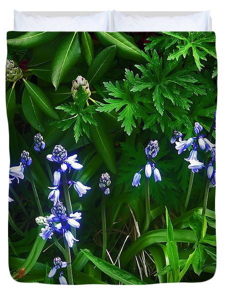 Blue Bells Duvet Cover by Aimee L Maher Photography and Art Visit ALMGallerydotcom