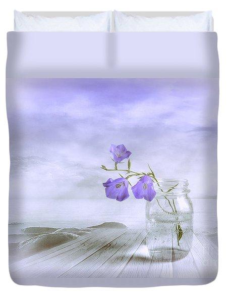 Blue Bells Duvet Cover by Veikko Suikkanen