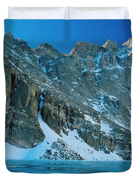 Blue Chasm Duvet Cover